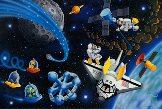 Images of space to print