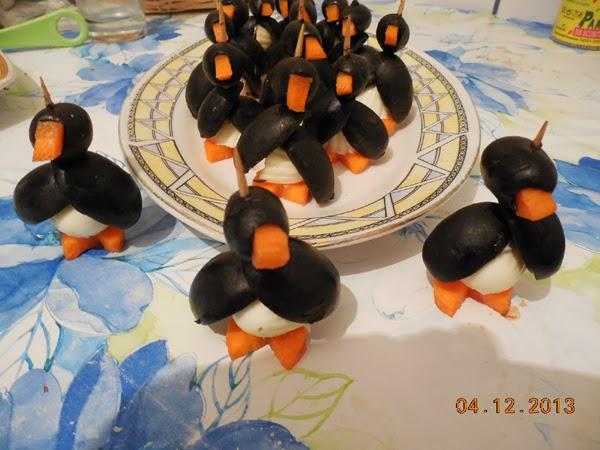 Sania trasa de pinguini