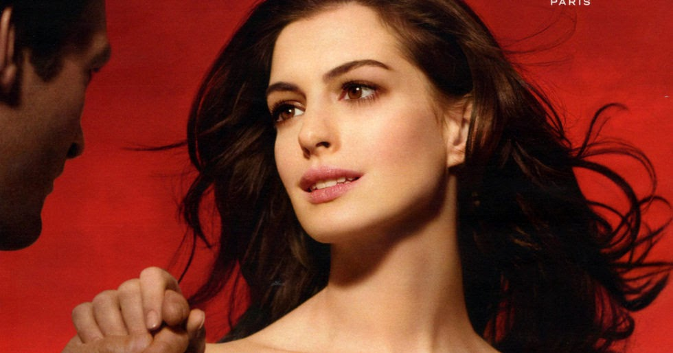 Celebrities, Movies and Games: Anne Hathaway is The Face ...