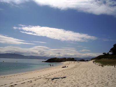 Playa Rodas Islas Cies, Galicia