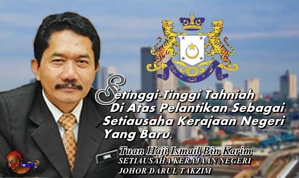 Maelpengerang Tahniah Kepada Suk Johor Yang Baru