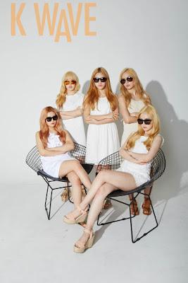 Red Velvet - K Wave Magazine May Issue 2015