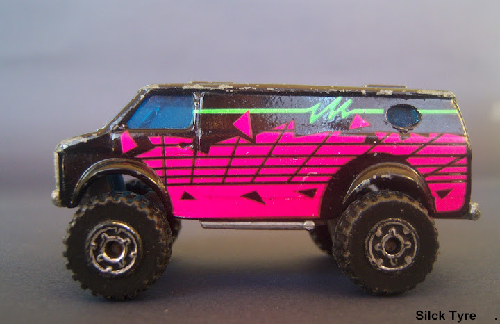 Slick tyre diecast car collection 4x4 chevy van p nk for Decoration 4x4