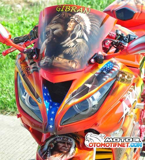 Modifikasi Kawasaki Ninja 250 FI Apache