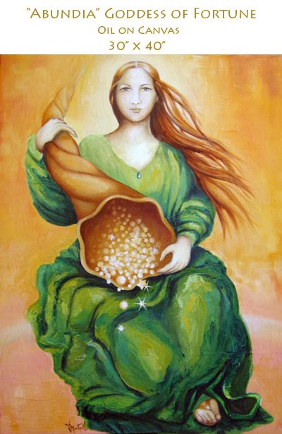 Abundia, Angel de la Fortuna