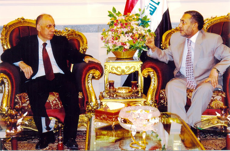 مع رئيس مجلس النواب - د. محمود المشهداني