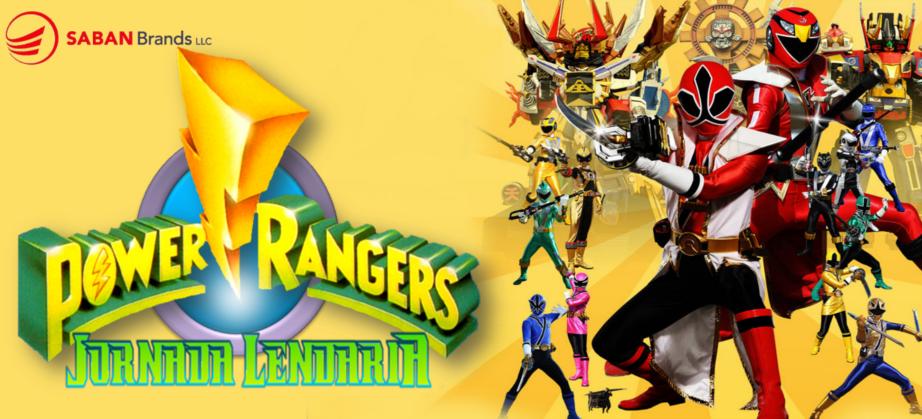 A JORNADA LENDÁRIA 2012: Power Rangers, Kamen Rider e outros Heróis