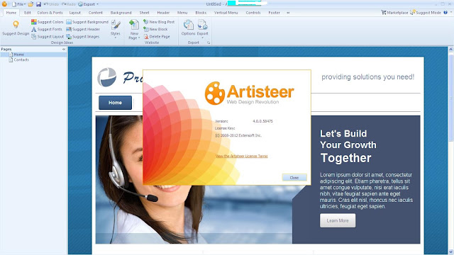 Artisteer 4.0 Full Version ScreenShotnya