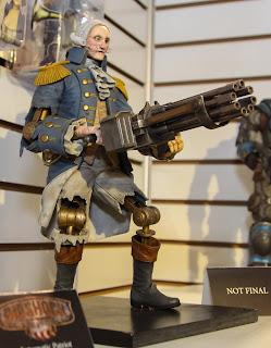 NECA 2013 Toy Fair Display Pictures - Bioshock Infinite figures