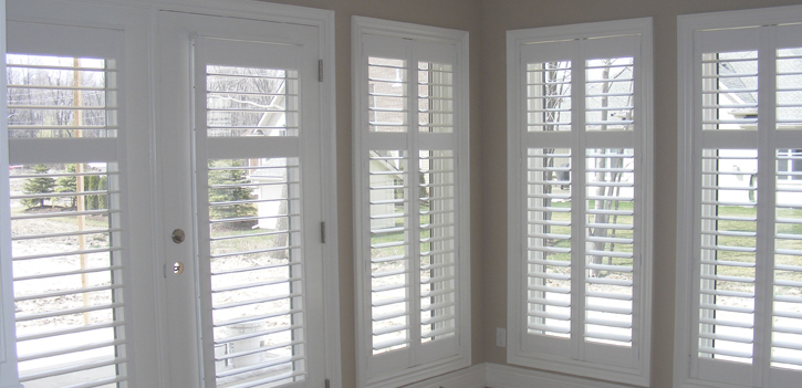 Most Homeowners Interact Daily With Their Indoor Shutters. Louvers Rotate  Open Or Closed To Regulate Daylight And Privacy, And Panels Swing Open On  Hinges ...