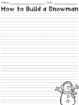 http://www.teacherspayteachers.com/Product/How-to-Build-a-Snowman-Writing-Paper-FREEBIE-1011464