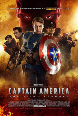 Capito Amrica: O Primeiro Vingador, de Joe Johnston