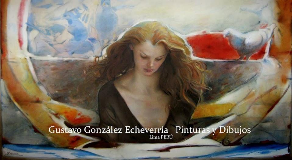 GUSTAVO GONZALEZ ECHEVERRIA PINTURAS