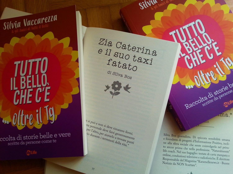 Autrice nel libro 'Tutto il bello che c'è oltre il Tg' della giornalista Tg2/RAI Silvia Vaccarezza
