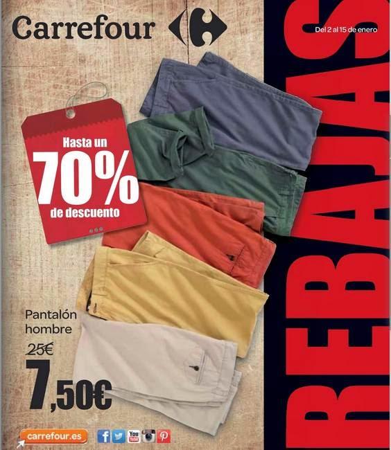 Rebajas de Carrefour Enero 2015