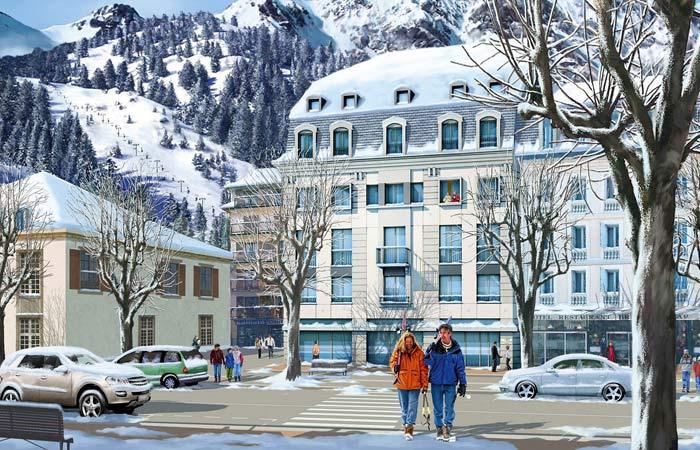 Ville de luchon vacances arts guides voyages for Piscine de luchon