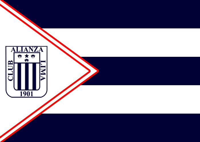 Resultado de imagen para bandera de alianza lima
