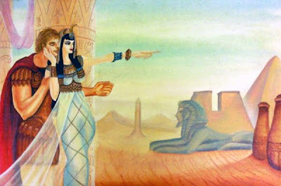 Narrative Text: Love Story of Antony and Cleopatra