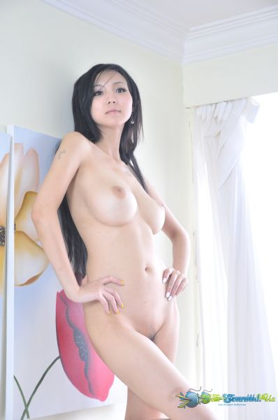 tits chinese model big