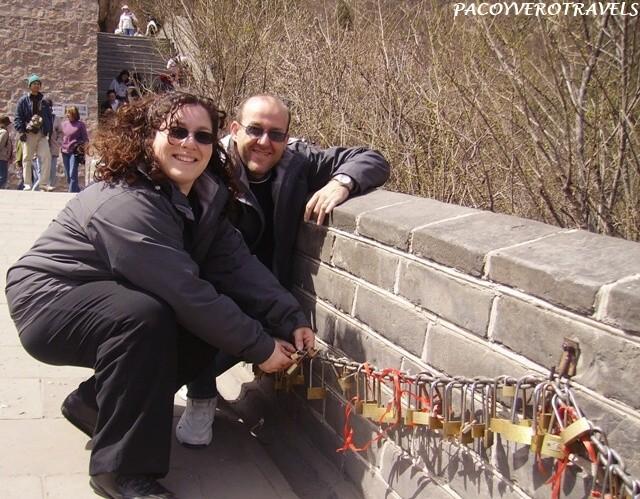 Candado en Muralla China