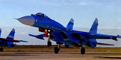 Взлет Су 27СМ.