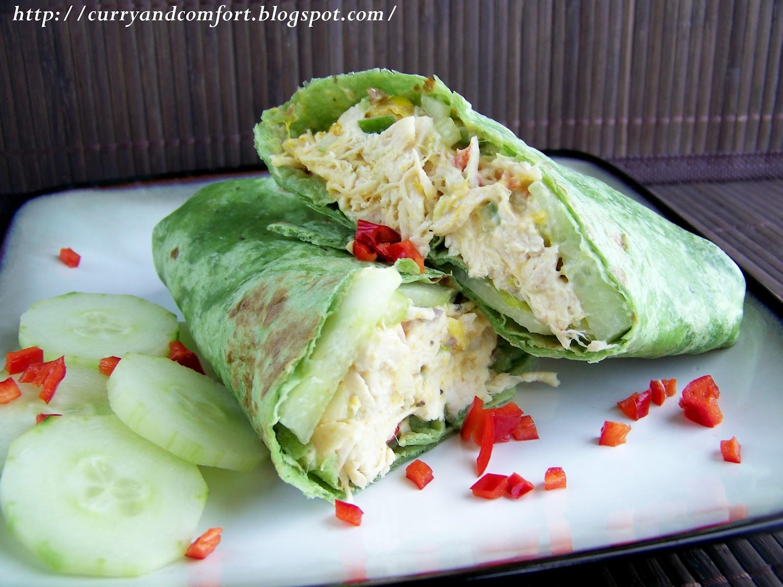Kitchen Simmer: Chicken Salad with Mango Chutney