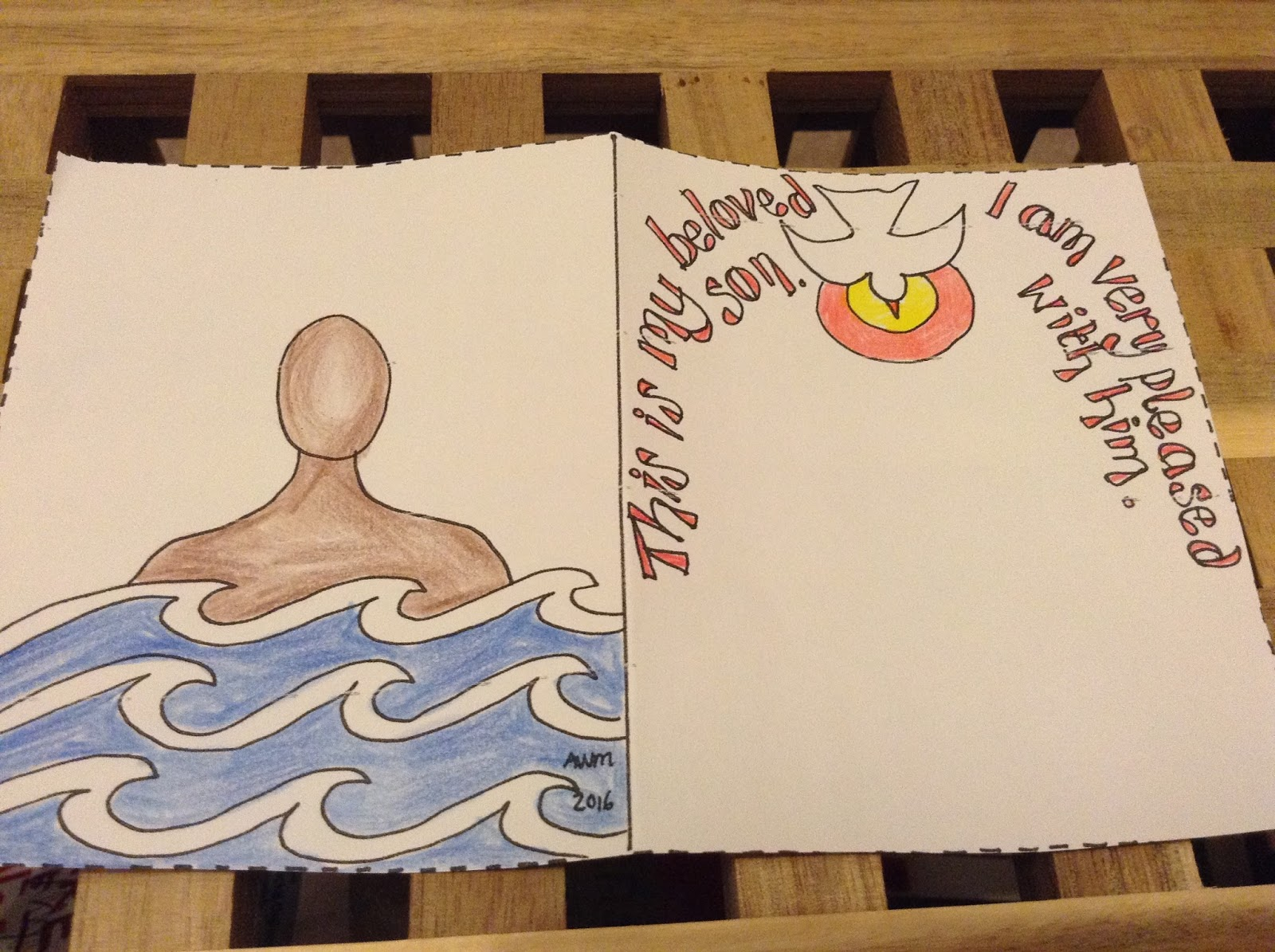 flame creative children u0027s ministry printable baptism of jesus