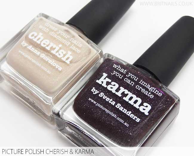 Picture Polish Collaborations 2015 - Cherish and Karma Swatches and ...