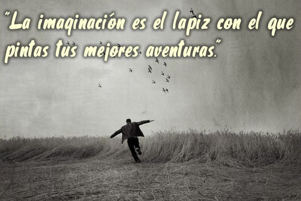 La imaginación es el lápiz