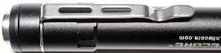 Nitecore 2xAAA Flashlight / Penlight - Clip Closeup 2