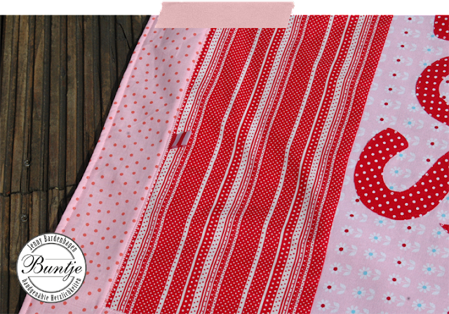 Kuscheldecke Krabbeldecke Babydecke Patchwork handmade Name Baumwolle Fleece rosa rot Schafe Decke Baby Geschenk Geburt