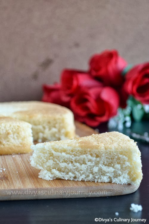 Divya 39 s culinary journey vanilla sponge cake basic egg for Basic vanilla sponge