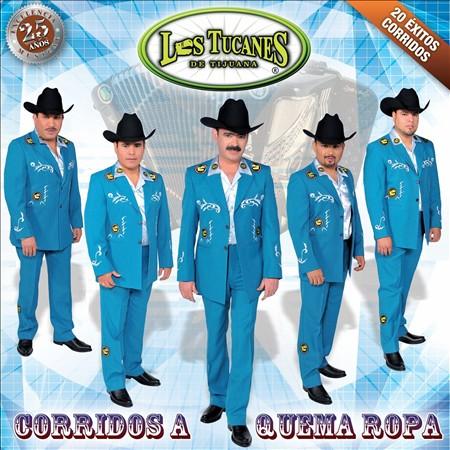 Los Tucanes De Tijuana - Corridos A Quema Ropa CD Album 2013 - Descargar