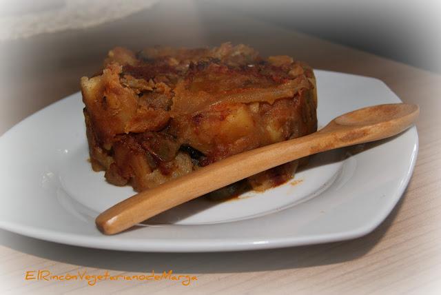 Patatas Revolconas Vegetarianas