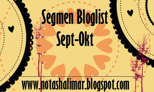 SEGMEN : BLOGLIST SEPT-OKT