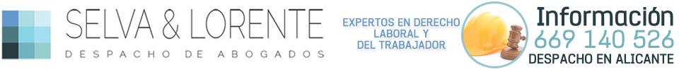 Selva&Lorente - 669 140 526 - Abogado laboralista en Alicante