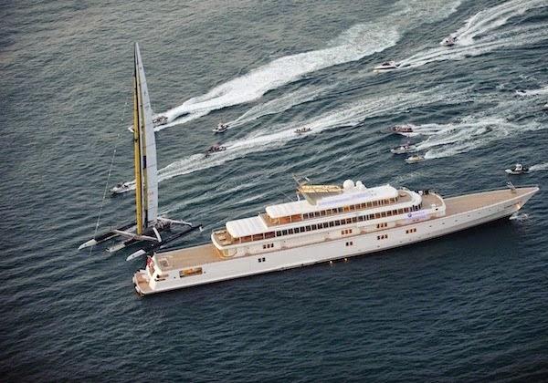 larry ellison mega yacht rising sun
