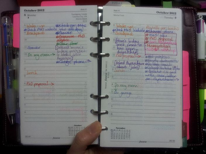 The Life of The Perpetual Student: Planner fail with my Filofax ...
