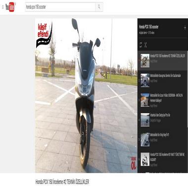 youtube com - honda pcx 150 scooter