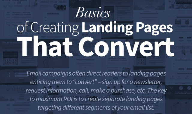 Basics of Creating Landing Pages That Convert #infographic ...