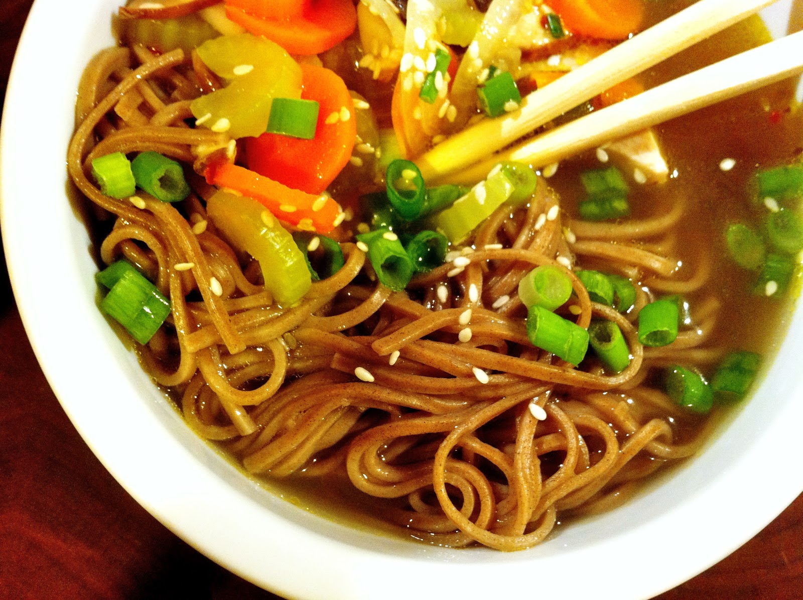Soba Noodle Turkey Soup | Backyard Farmgals
