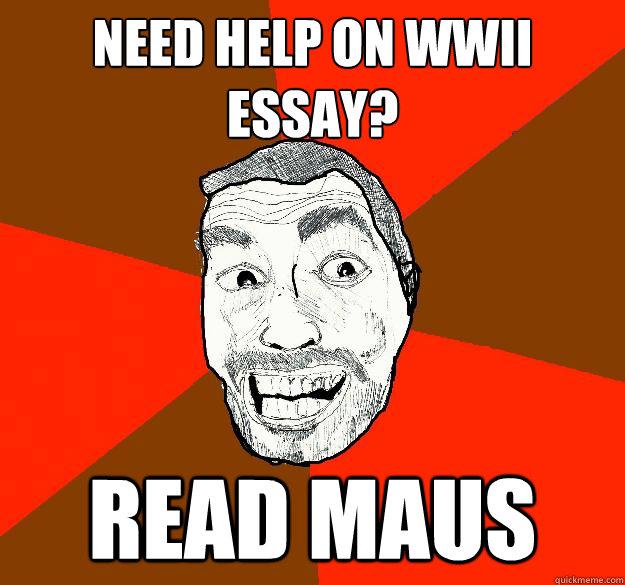 maus ii essay questions
