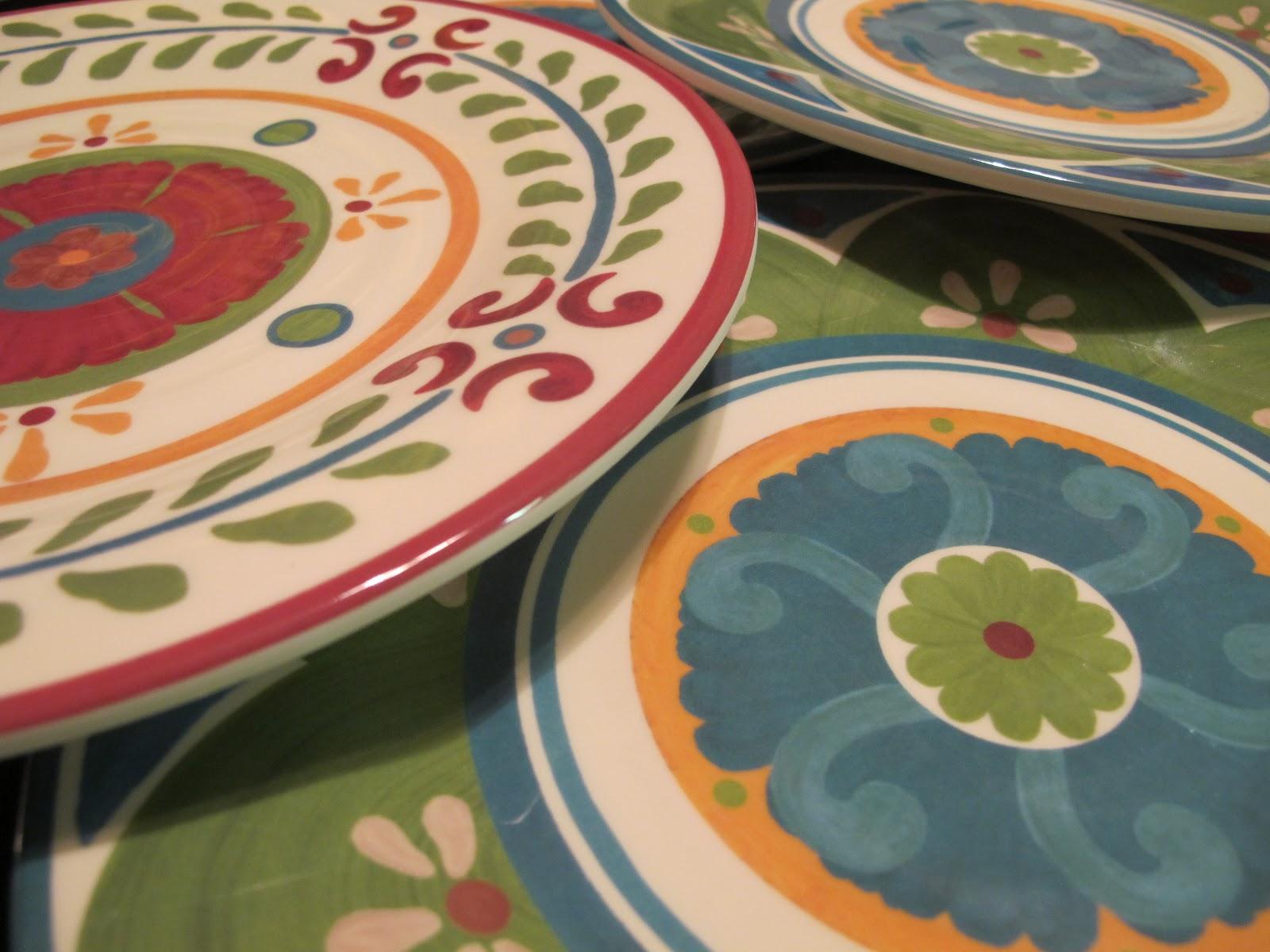 & Pots Pans \u0026 Paintbrushes: Cute Patterned Target Melamine Plates