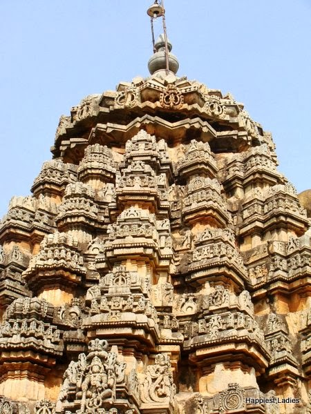 tower of hoysala temple arasikere