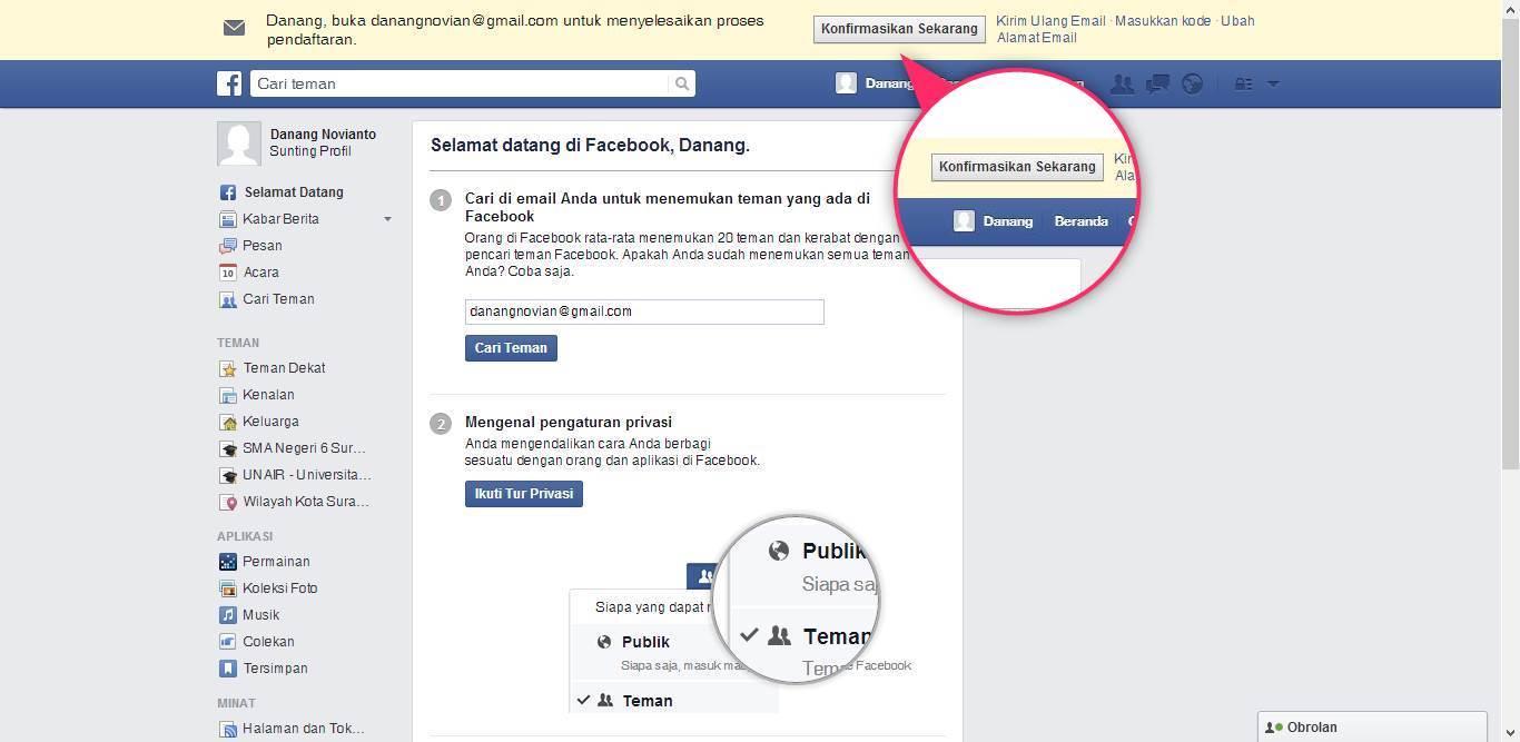 Cara Daftar Facebook Untuk Membuat Akun Baru Cara Daftar Facebook Untuk Membuat Akun Baru