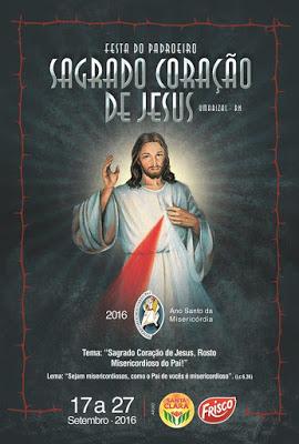 FESTA DO PADROEIRO DO SAGRADO CORAÇÃO DE JESUS