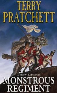 "Cover of ""Monstrous Regiment"", a novel by Terry Pratchett"