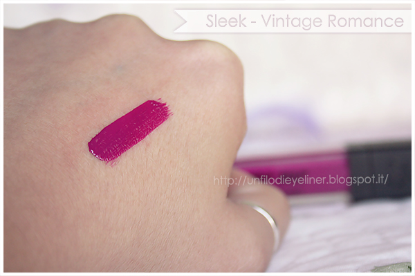 Review & Swatch : Sleek - Matte Me Fandango Purple
