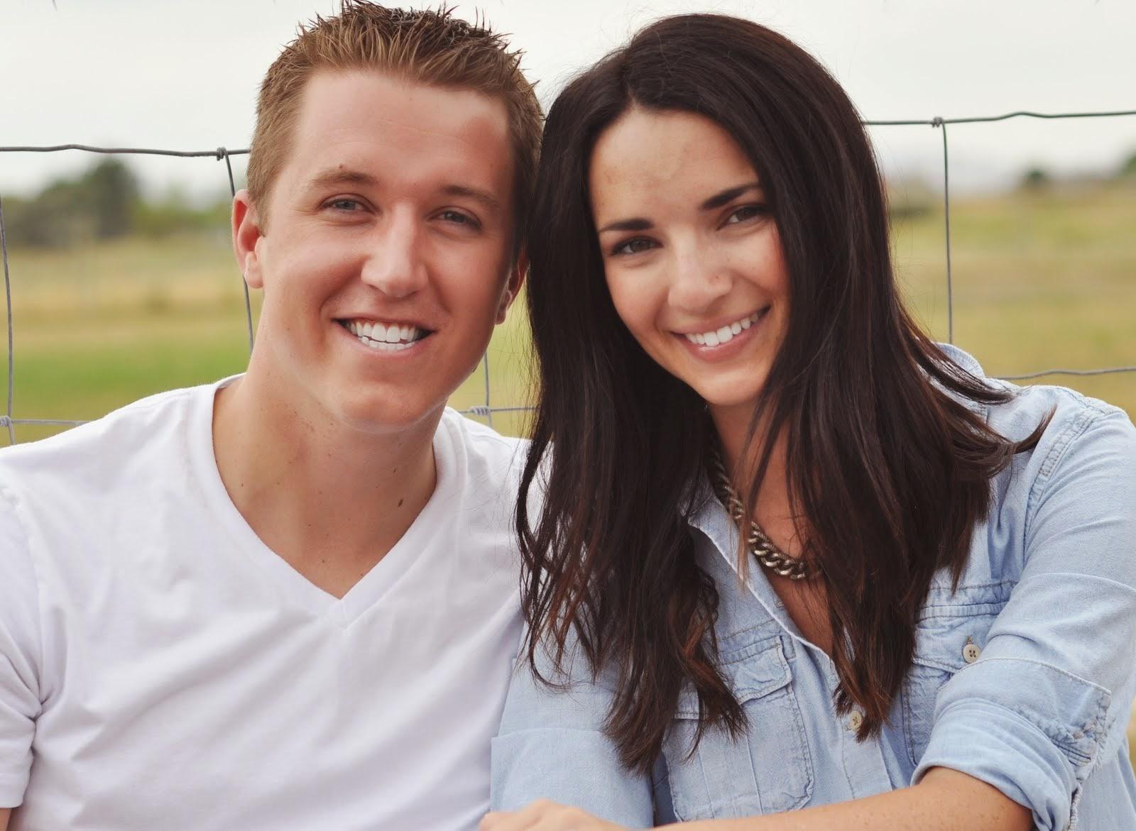 Andy and Lauren