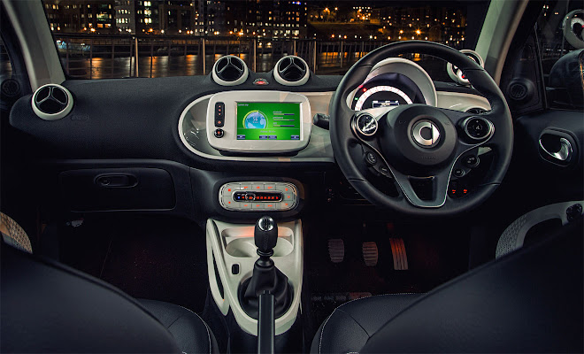 Smart ForTwo Mk3 dashboard